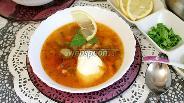 Фото рецепта Солянка с курицей