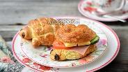 Фото рецепта Полбяные сдобные сэндвичи