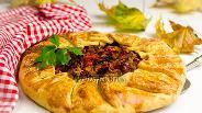 Фото рецепта Галета мясная с овощами