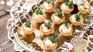 Фото рецепта Тарталетки с печенью трески