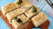 Фото рецепта Закусочный торт наполеон