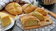 Фото рецепта Овсяный хлеб с сыром