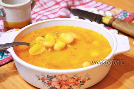 Фасолевый суп с квашеной капустой по-венгерски