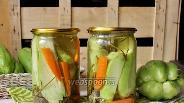 Фото рецепта Маринованный чайот (мексиканский огурец)