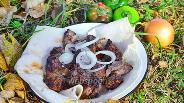 Фото рецепта Шашлык из баранины маринованный в киви
