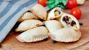 Фото рецепта Пирожки из песочного теста с овощами