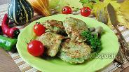 Фото рецепта Куриная грудка в шпинатном кляре