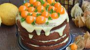 Фото рецепта Лимонный торт с физалисом