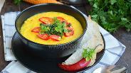 Фото рецепта Суп-пюре кукурузный