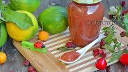 Фото рецепта Яблочный джем с боярышником