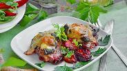 Фото рецепта Курица запечённая с алычой