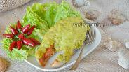 Фото рецепта Стейк кижуча под соусом