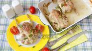 Фото рецепта Перепёлки запечённые с чесноком и горчицей