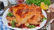 Фото рецепта Цыплёнок запечённый с кизилом