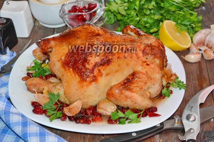 Фото Цыплёнок запечённый с кизилом
