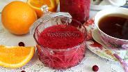 Фото рецепта Варенье из апельсинов и клюквы