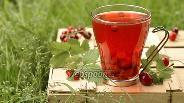 Фото рецепта Компот из вишни с земляникой