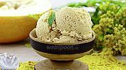 Фото рецепта Сливочное мороженое с дыней