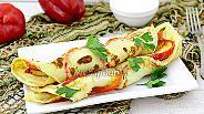 Фото рецепта Блины с болгарским перцем
