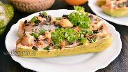Фото рецепта Кабачки фаршированные мясом