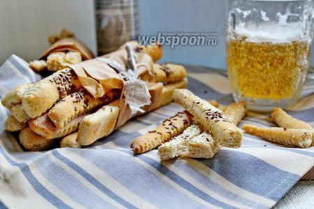 Хлебные палочки с отрубями