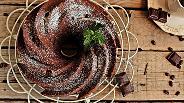 Фото рецепта Кофейно-шоколадный кейк