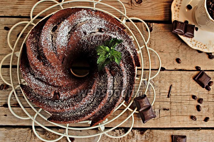 Фото Кофейно-шоколадный кейк