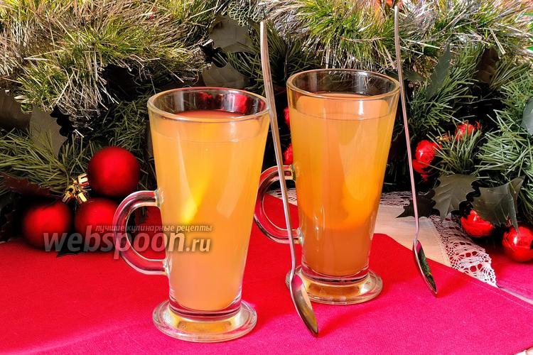 Фото Согревающий напиток со специями