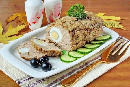 Митлоф с яйцом