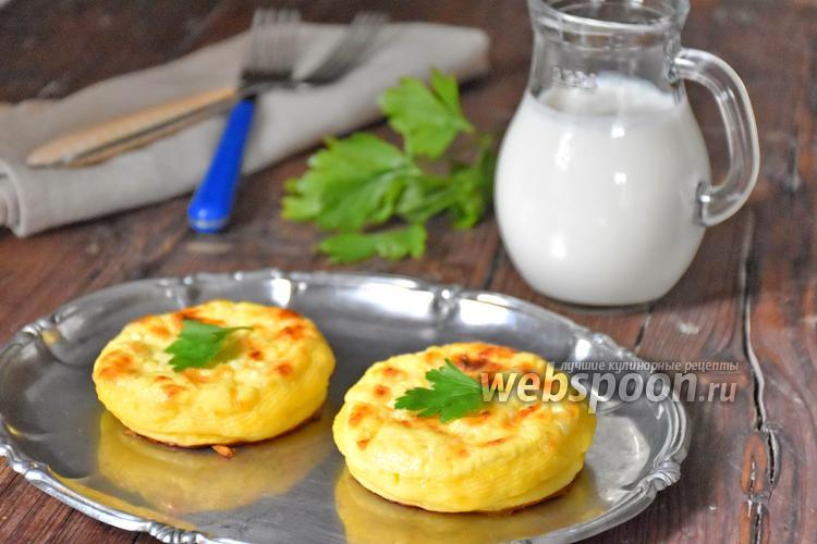Фото Ватрушки картофельные с сыром