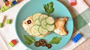 Фото рецепта Котлеты рыбные для детей «Золотая рыбка»