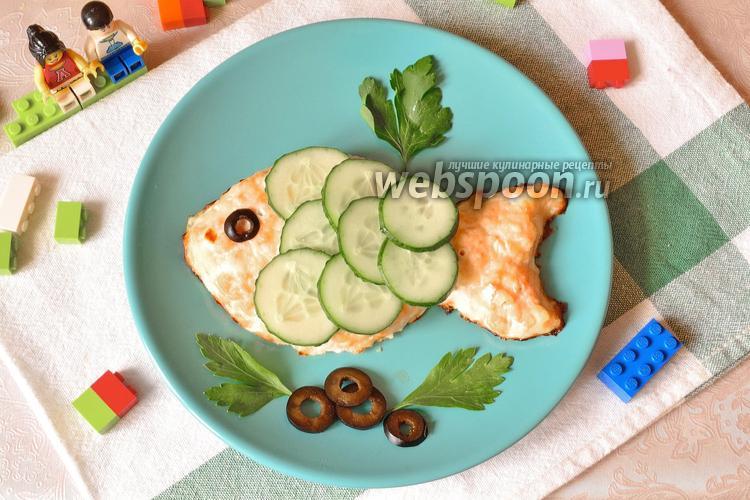 Фото Котлеты рыбные для детей «Золотая рыбка»