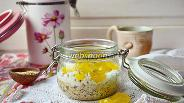 Фото рецепта Ленивая овсянка с кумкватом