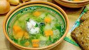Фото рецепта Рисовый суп из скумбрии с морковью