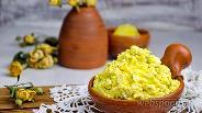 Фото рецепта Домашний сыр с зеленью