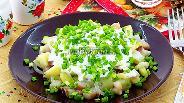 Фото рецепта Салат из картофеля и сельди
