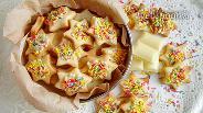 Фото рецепта Печенье с конфетти и шоколадом