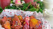 Фото рецепта Рождественские пряники из полбяной муки