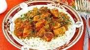 Фото рецепта Куриное филе в соусе «карри»