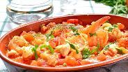 Фото рецепта Креветки саганаки