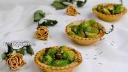 Фото рецепта Тарталетки с брюссельской капустой