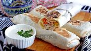 Фото рецепта Шаурма с шашлыком
