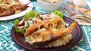 Фото рецепта Жареный толстолобик