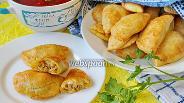 Фото рецепта Песочные пирожки с мясом