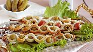 Фото рецепта Антипасти — слойки с маслинами
