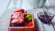 Фото рецепта Суши «Запечёный спайси краб»