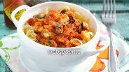 Фото рецепта Паста с мидиями в томатном соусе