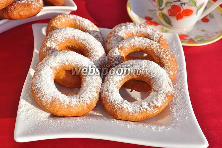 Фото Воздушные пончики