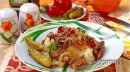 Фото рецепта Свинина в гранатовом соусе