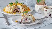 Фото рецепта Салат Кружевница